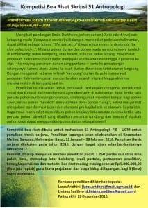 Bea Riset Kalimantan 3